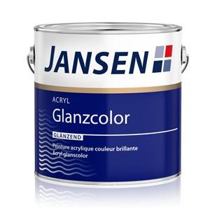 Peinture acrylique couleur brillant - Jansen