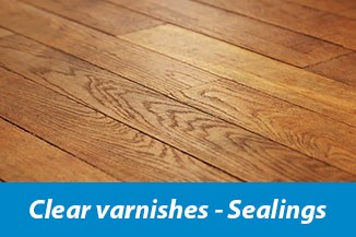 Clear varnishes - Sealings