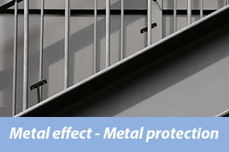 Metal effect-Metal protection
