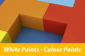 White Paints-Colour Paints
