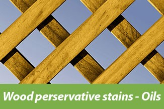 Wood persevative stains - Oils